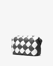 Maze Bag - White & Dark Gray