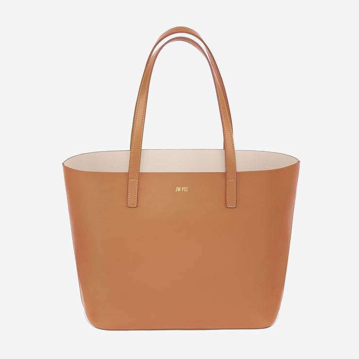 The Minimal Tote - Tan