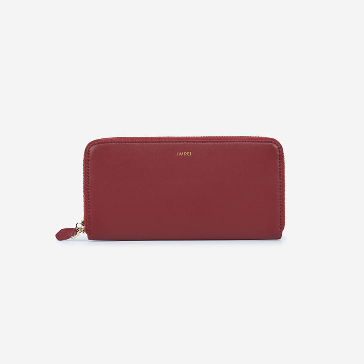 The Wine Red Wallet