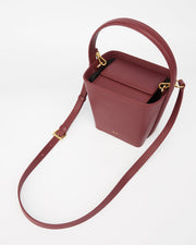 The Square Bucket - Wine Red