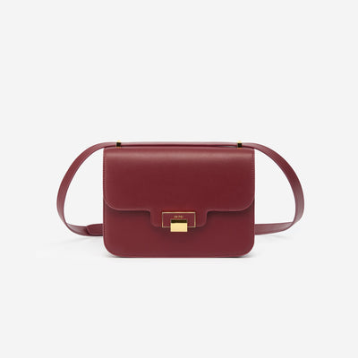 The Day Crossbody - Wine Red