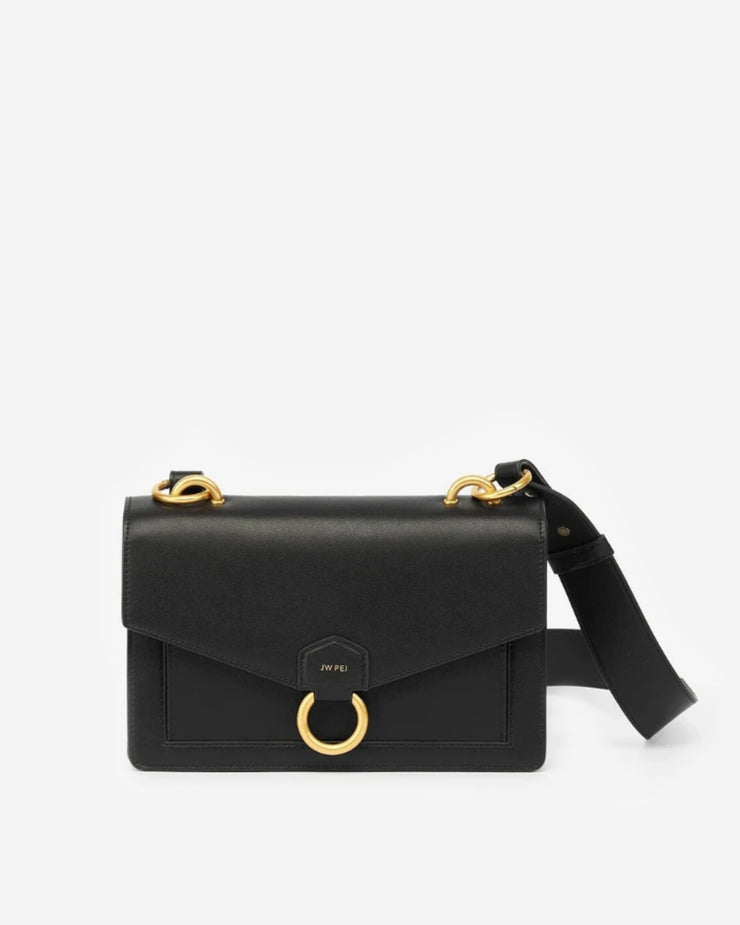The Envelope Crossbody - Black