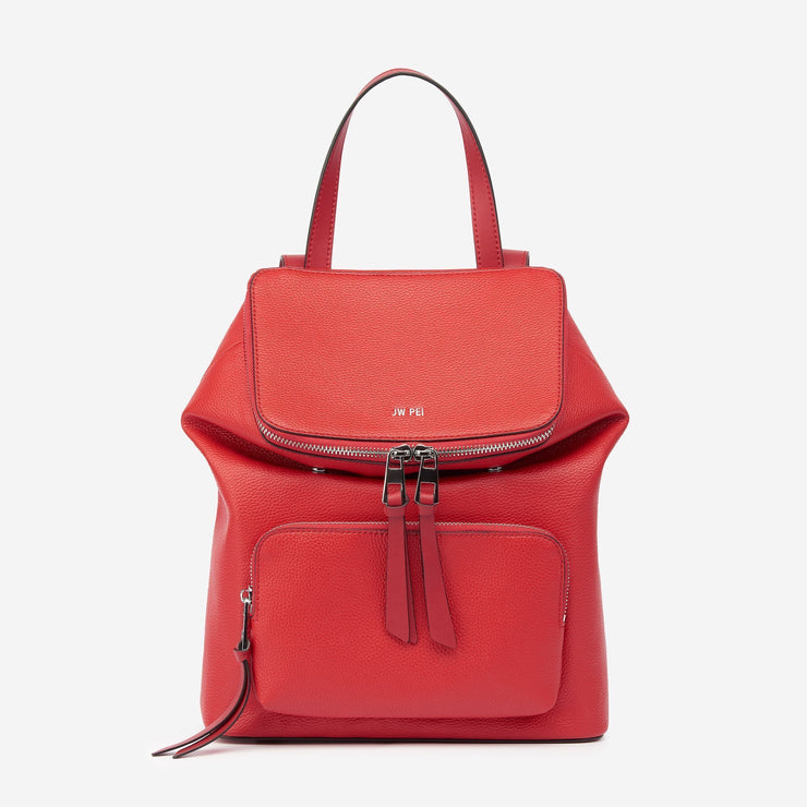 The Mason Backpack - Red