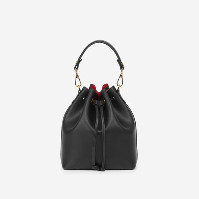 The Bucket Bag - Black