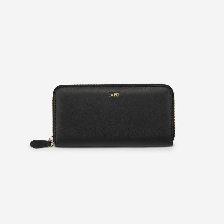 Zipper Wallet - Black