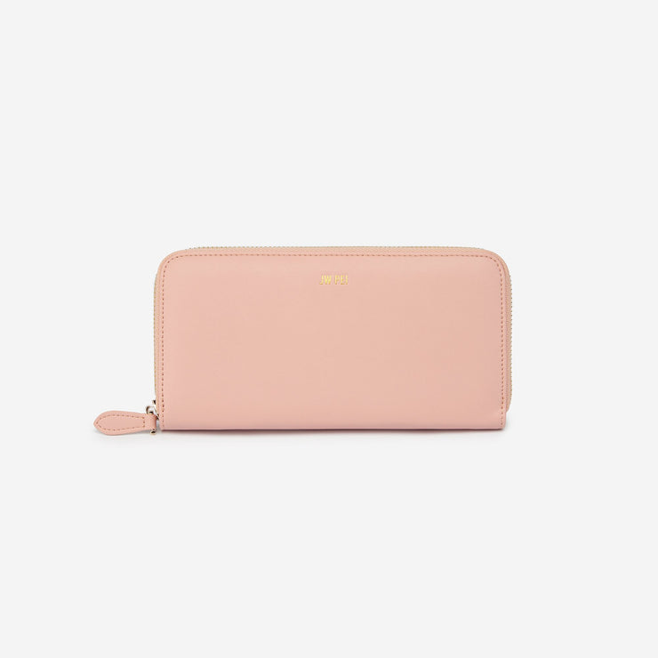 Zipper Wallet - Blush