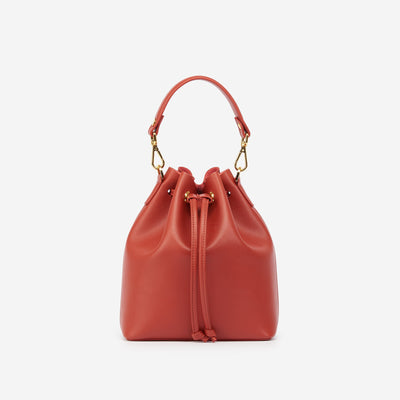 The Bucket Bag - Brick