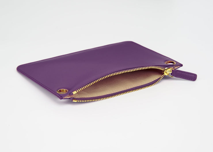 The Triplet Crossbody Bag -  Eggplant