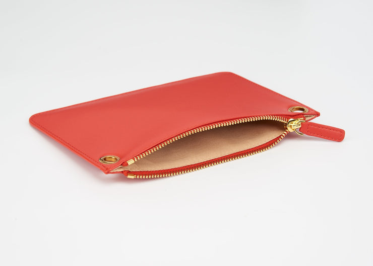 The Triplet Crossbody Bag - Coral