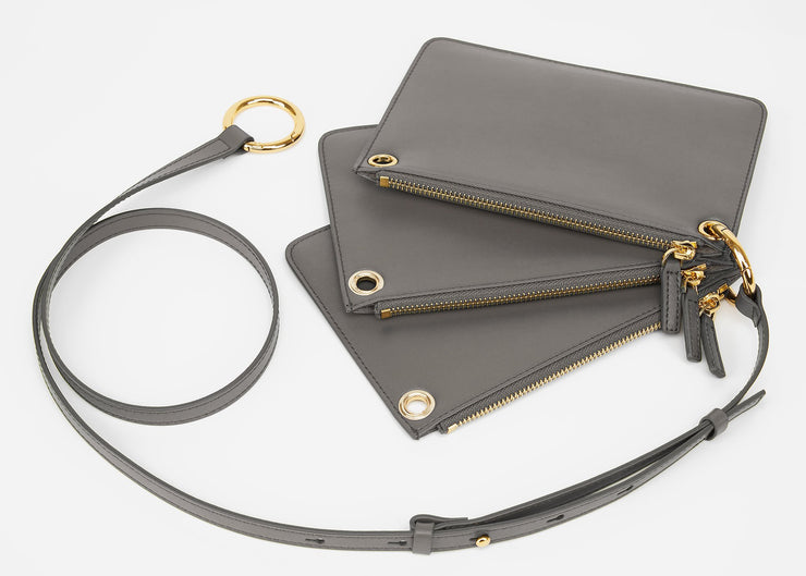 The Triplet Crossbody Bag - Gery
