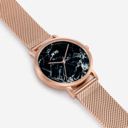 The Black Marble Dial Watch
