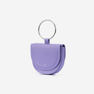 The Double Moon Crossbody - Violet