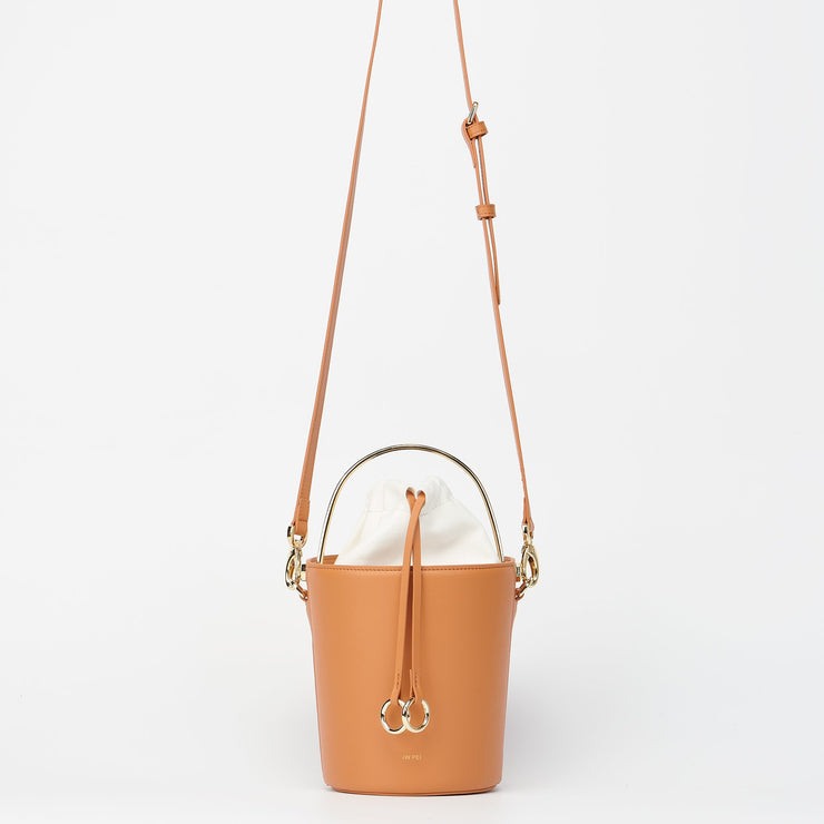 The Ring Bucket Bag - Tan