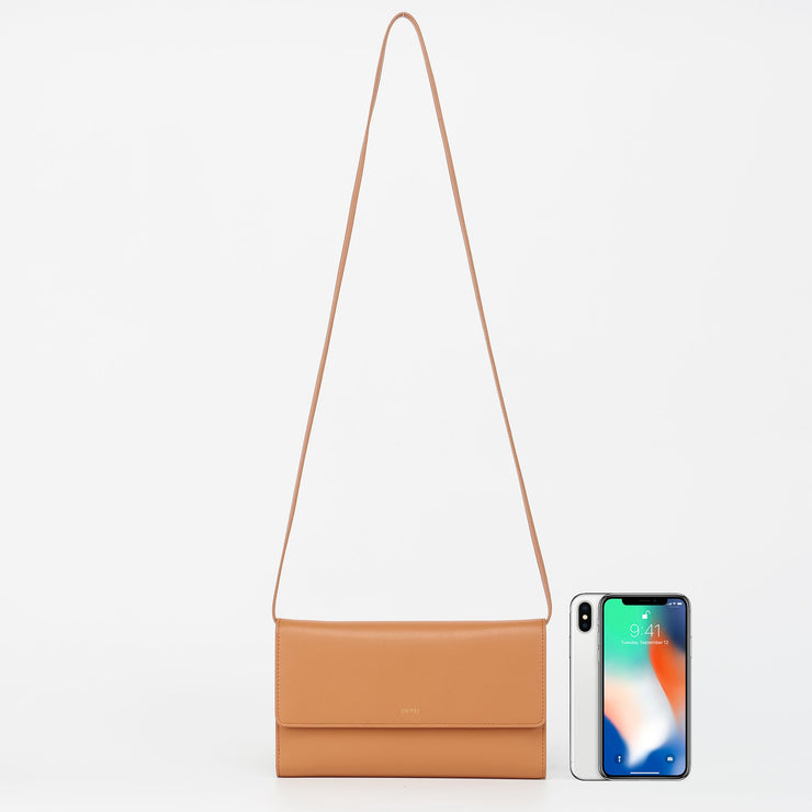 The Tan Flap Wallet