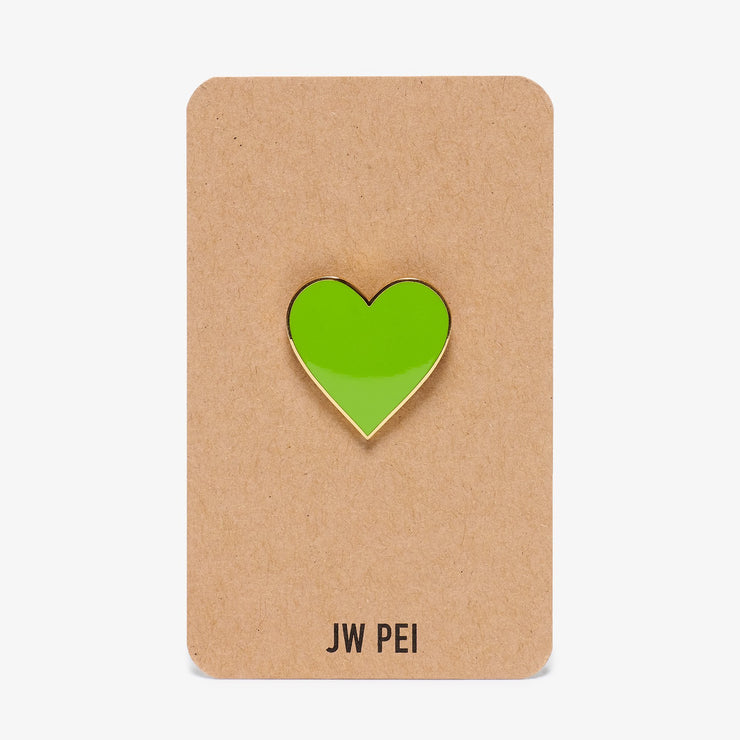Green Heart Pin