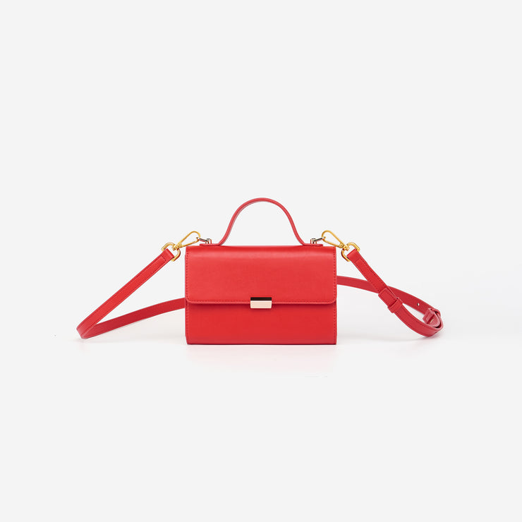 Jamie Crossbody Bag - Red