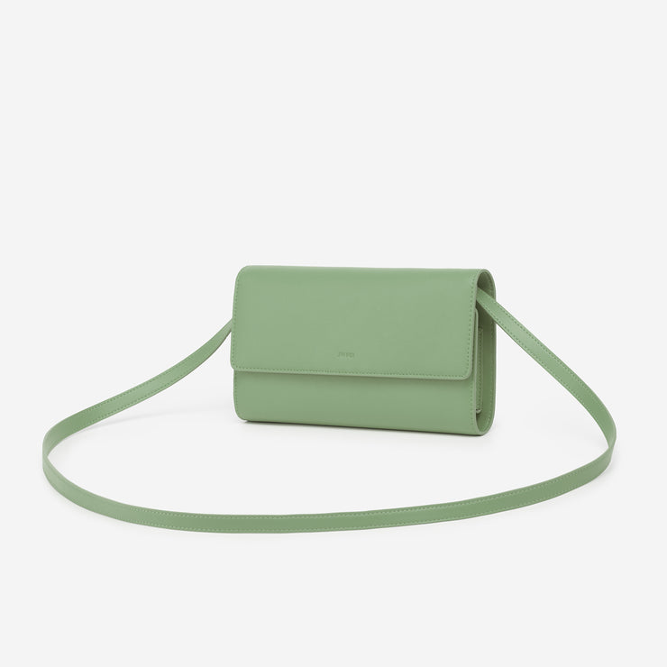 The Mint Green Flap Wallet