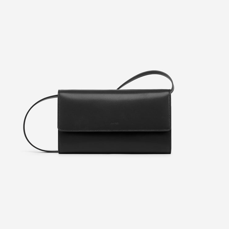 The Black Flap Wallet