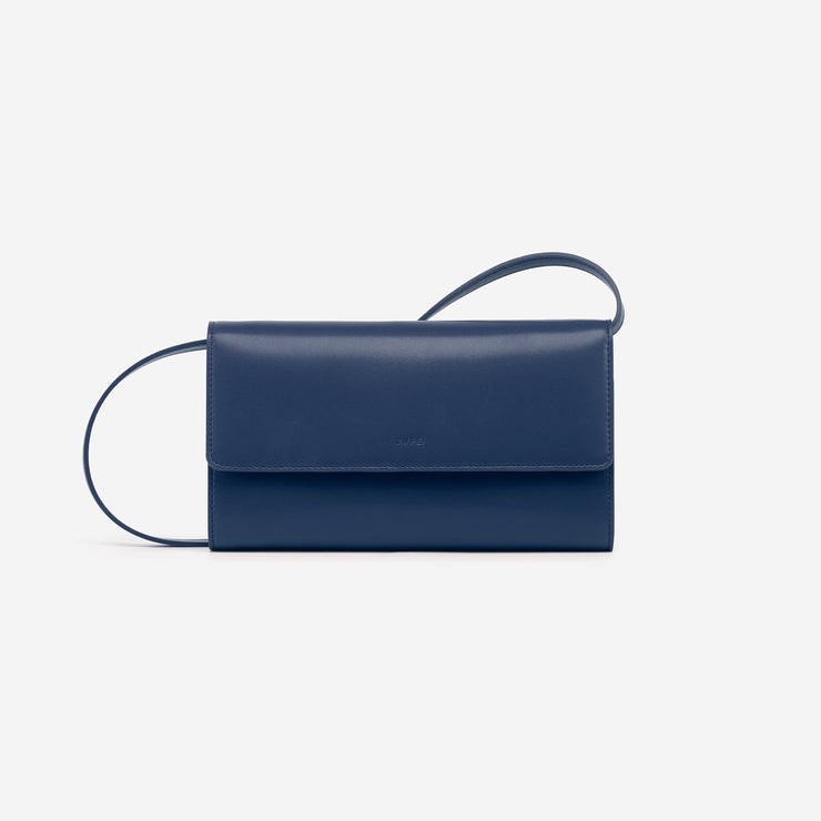 The Navy Blue Flap Wallet