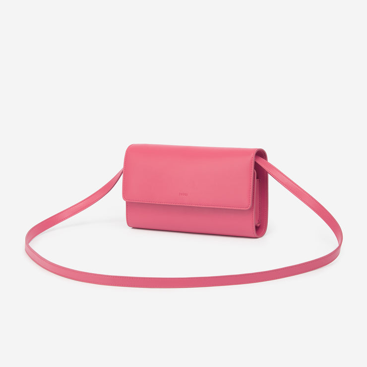 The Rose Red Flap Wallet