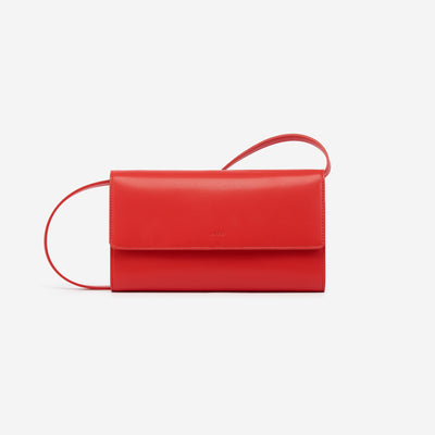 The Red Flap Wallet