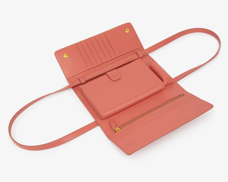 The Rose Flap Wallet