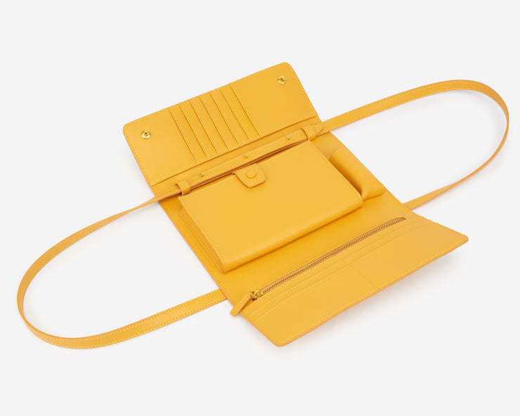 The Mustard Flap Wallet