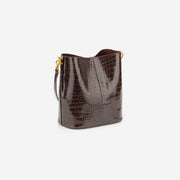 Leah Mini Bucket Bag -  Netulla Croc