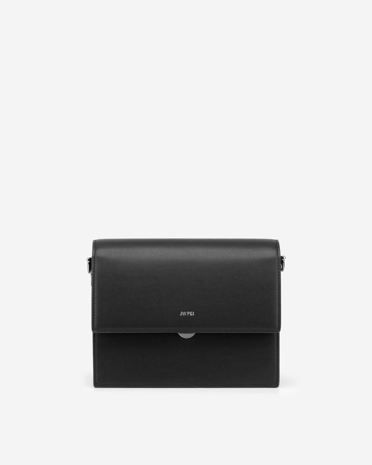 Mini Flap Bag - Black