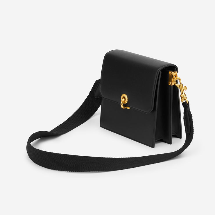 Strap For The Ring Lock Crossbody - Black