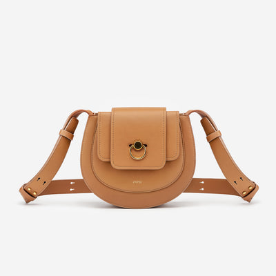 The Saddle Bag -Tan