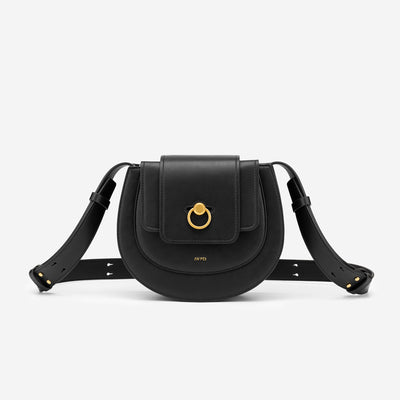 The Saddle Bag -Black