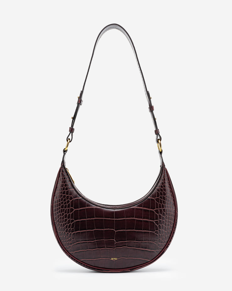 Carly Bag - Brown Croc