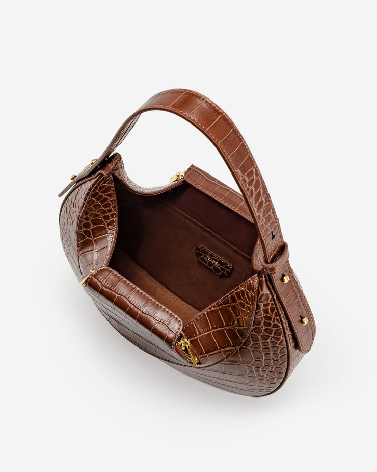Rantan Bag - Brown Croc