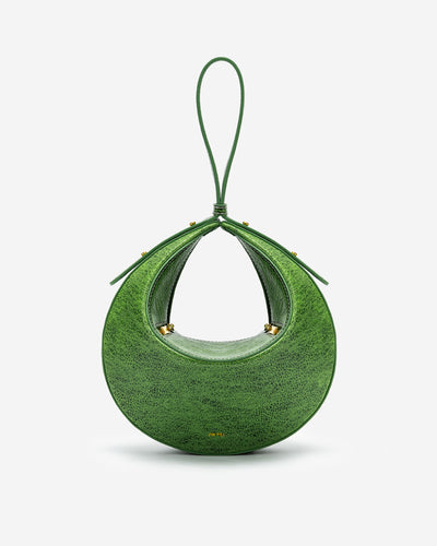 Rantan Faded Wash Bag - Green