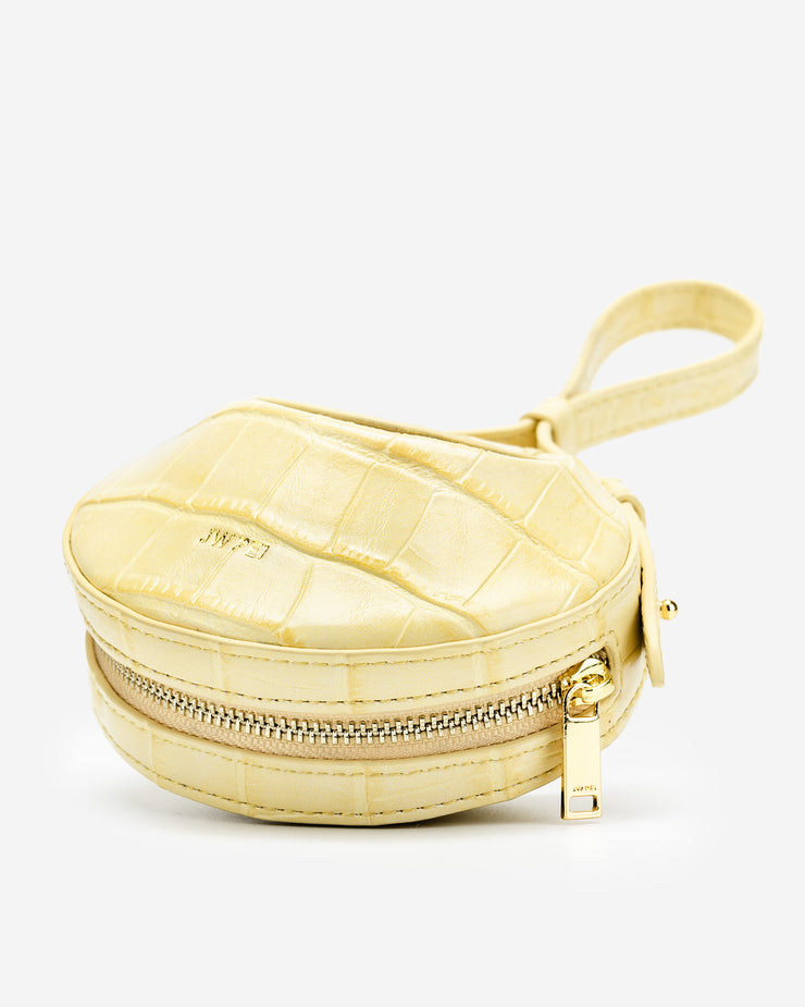 Rantan Super Mini Bag - Light Yellow Croc