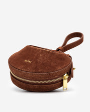 Rantan Super Mini Bag - Brown Suede