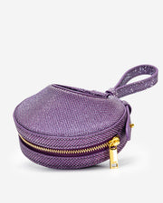 Rantan Super Mini Glossy Finish Bag - Purple