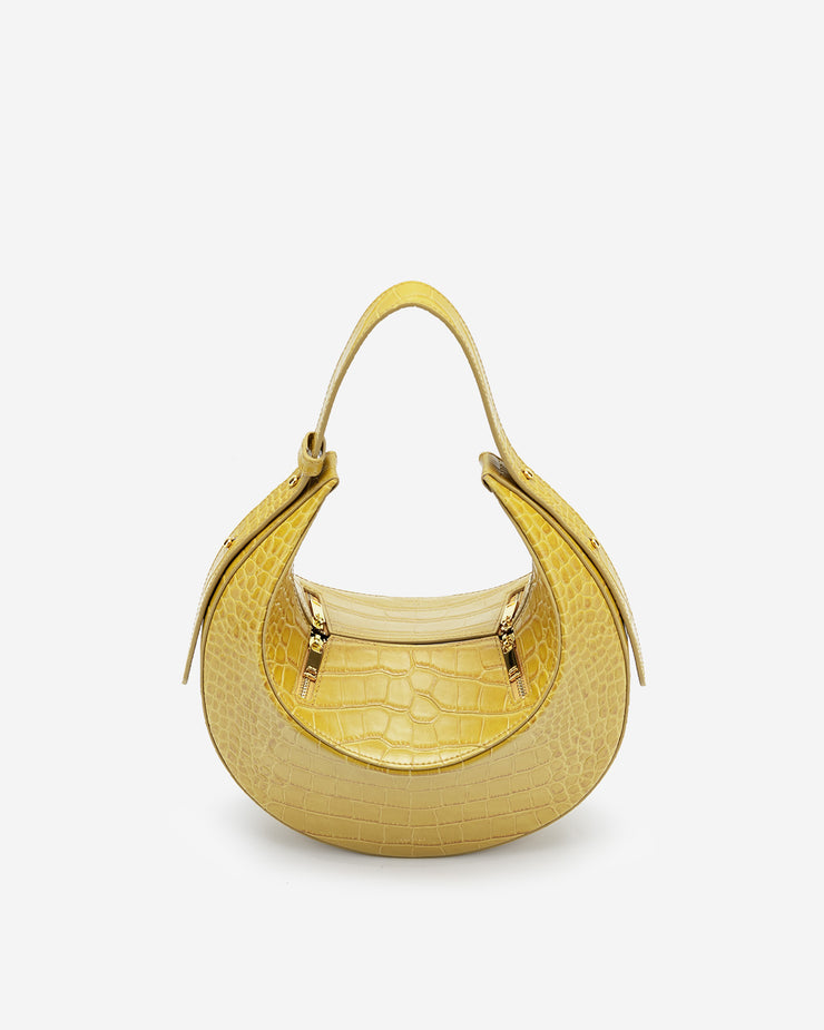 Rantan Bag - Yellow Croc