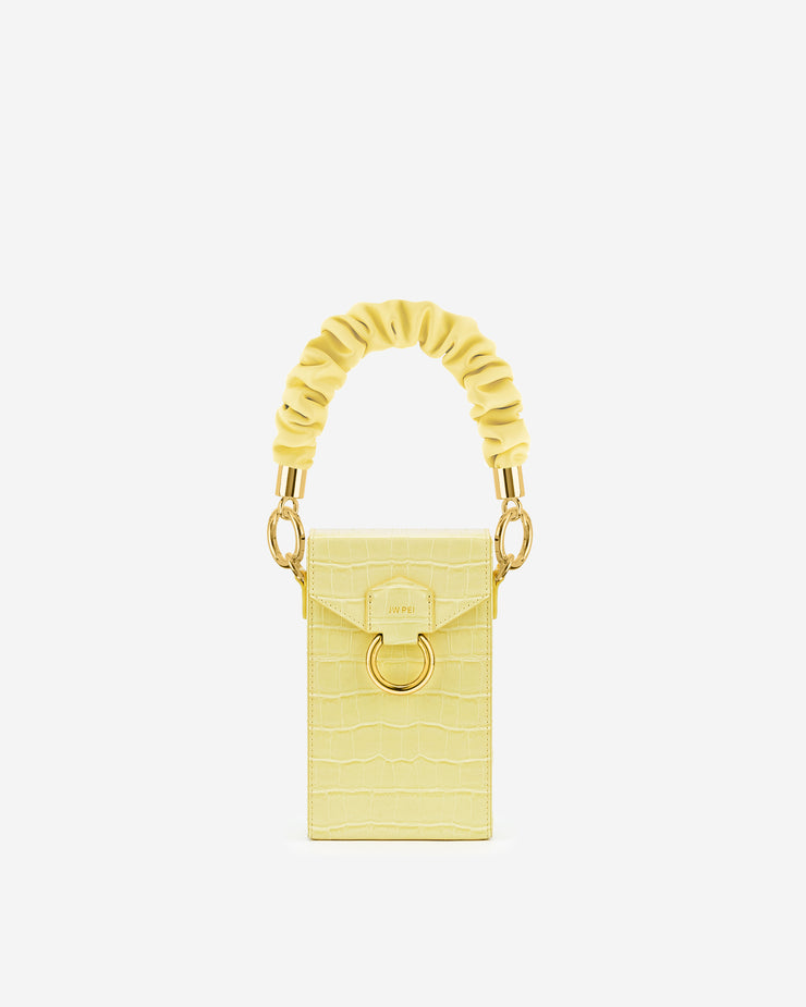 Scrunchie Strap - Yellow