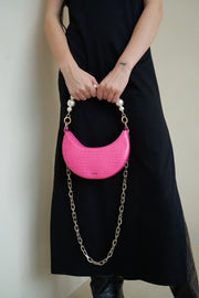 Carly Small Crossbody Bag - Pink