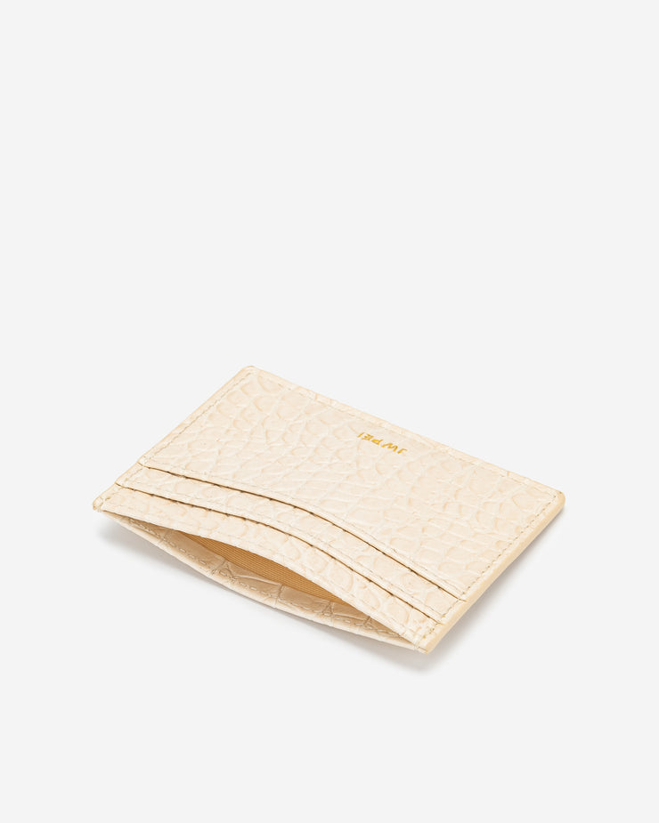 The Card Holder - Ivory Croc