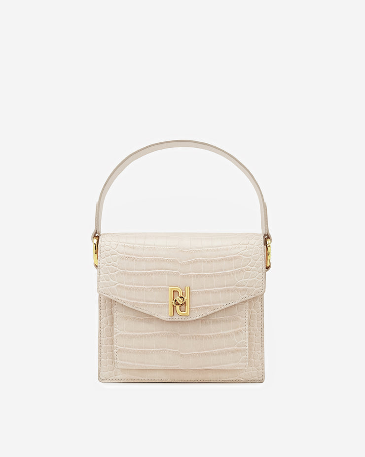 Lucy Bag - Ivory Croc