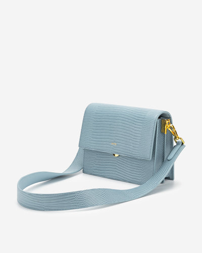 Mini Flap Bag - Ice Lizard