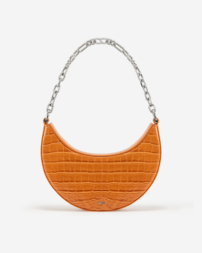 Carly Medium Shoulder Bag - Orange