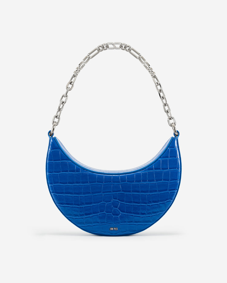 Carly Medium Shoulder Bag - Classic Blue