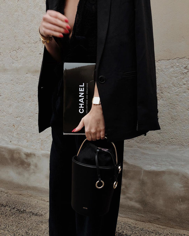 The Ring Bucket Bag - Black
