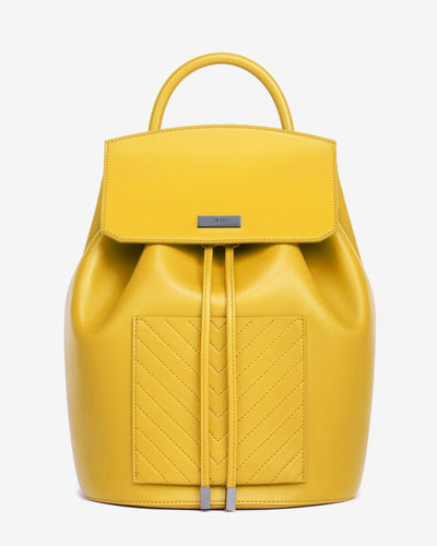 Mini Drawstring Backpack - Yellow