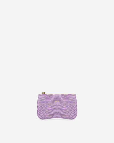 Eva Card Holder - Purple Lizard