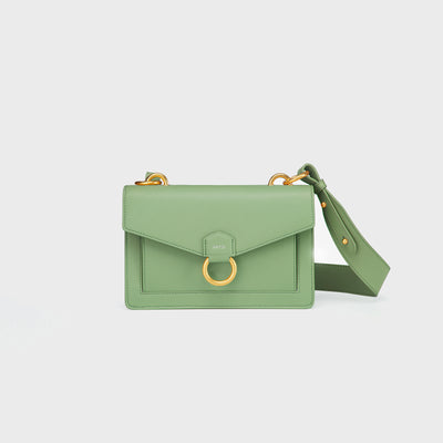 The Envelope Crossbody - Mint Green